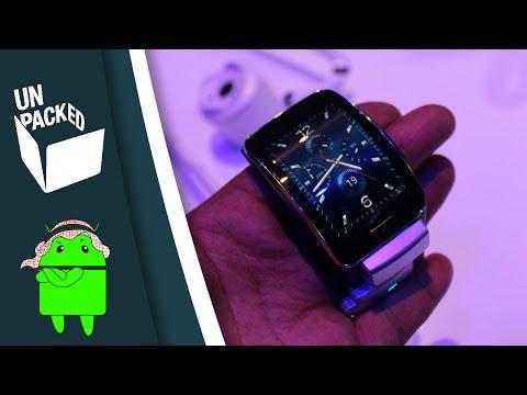نظرة سريعة على الجير أس | Samsung Gear S First look