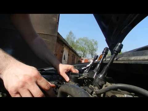 Замена сальников свечных колодцев Nissan QR20
