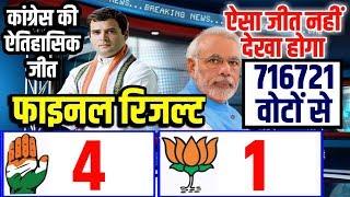 Karnataka By Election Final Results, Congress+JDS 4 सीटों पर जबरदस्त जीत BJP को १ सीट I Times9 News