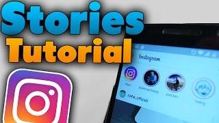 Instagram Stories Tutorial (Deutsch)