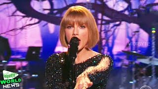 Taylor Swift Performs 'Out of the Woods' at Grammy Awards 2016