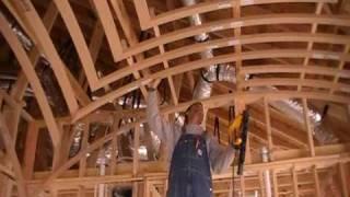 How to Frame a Groin Vault Ceiling