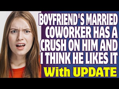 With on coworker a crush a married logo