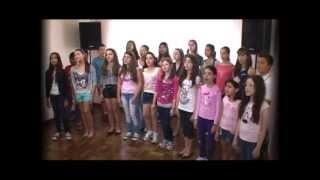 Coral Infanto-Juvenil Sonar - Eu te amo meu Brasil