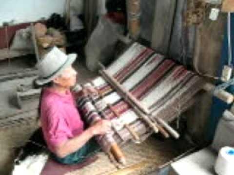 Ecuadoran Weaver Miguel Andrango