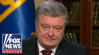 Ukrainian president speaks out on Russia's 'aggression'