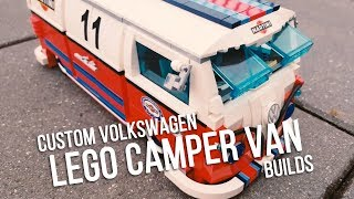 Custom VW LEGO Camper Van Builds From Around The World | Camper Life TV