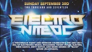 Electro Nite OC: A Throwback Blog Haus Night | This Sunday Sept 3rd 2017
