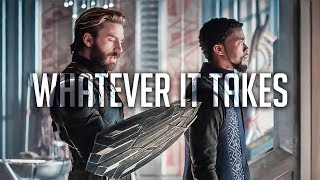 """Captain America x Black Panther 