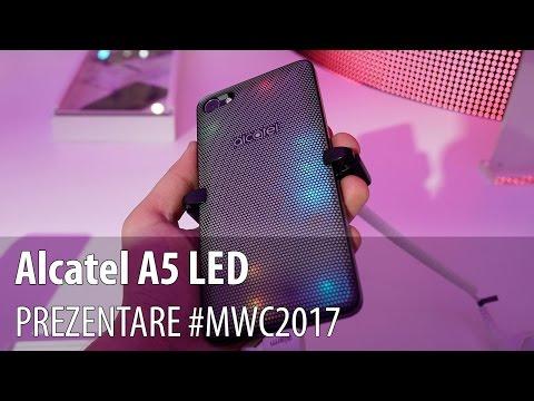 Alcatel A5 LED - Prezentare hands-on