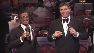 Sammy Davis Jr. and Jerry Lewis - Friendship (1986) - MDA Telethon