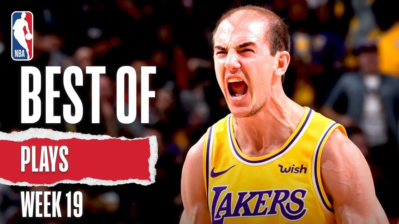 NBA's Best Plays | Week 19 | 2019-20 NBA Season