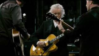 """Jimmy Page,Jack White and The Edge playing ,,In my time of dying"""""""