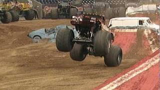 Monster Jam - PitBull, El Matador & Bad Habit Monster Trucks - Houston, TX - 2/6/10