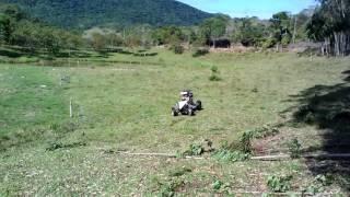 Kart Cross capotando ACIDENTE - NÃO FAÇAM ISSO - piloto Muriel