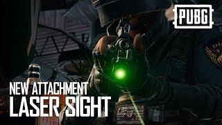 PUBG - New Attachment - Laser Sight
