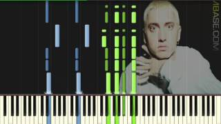 Eminem - Stan (ft. Dido) - Piano tutorial (Synthesia)