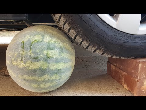 Download Video Crushing Crunchy & Soft Things By Car! EXPERIMENT CAR Vs ICE WATERMELON