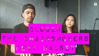 Closer - The Chainsmokers feat. Halsey (cover version) Indonesia Live..