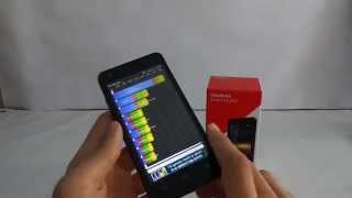 Vodafone Smart 4 Turbo Quadrant benchmark video