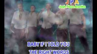 BOYZONE - BABY CAN I HOLD YOU (WITH LYRICS)