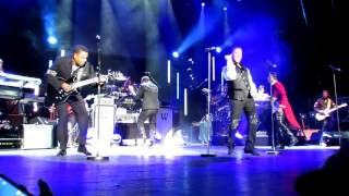 The Jacksons Lovely One live Manchester Apollo 27th February 2013 Unity Tour