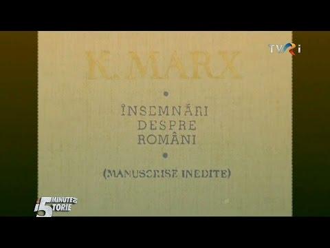Karl Marx - însemnări despre români