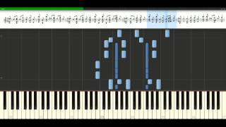 David Guetta - Sexy Chick feat. Akon [Piano Tutorial] Synthesia