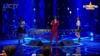 "Ricky Ujung ""Mama Papa"" - Rising Star Indonesia Great 8 Eps 20"