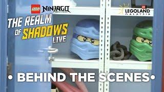 LEGOLAND® NINJAGO® Live Show- Behind the Scenes