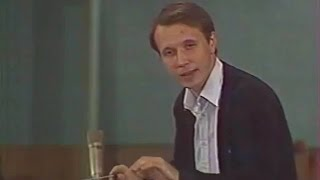 Mikhail Pletnev conducts Pletnev - Triptych for orchestra (Moscow, 1986)