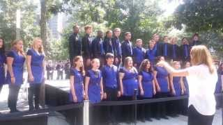 """BYC - Josh Groban's """"You Raise Me Up"""" at 9/11 Memorial Ceremony"""
