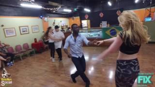 Zouk Brasileiro em Londres   Demo Lisa & Ekow Pedrinho & Linda