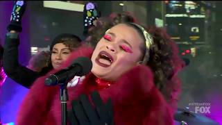 Andra Day Rise Up Live on Fox New Year's Eve 2018