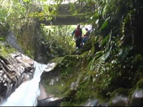 Canyoning in Ecuador 2009