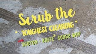 "SCRUB THE ""TOUGHEST CLEANING"" สำนักพิมพ์แม่บ้าน"