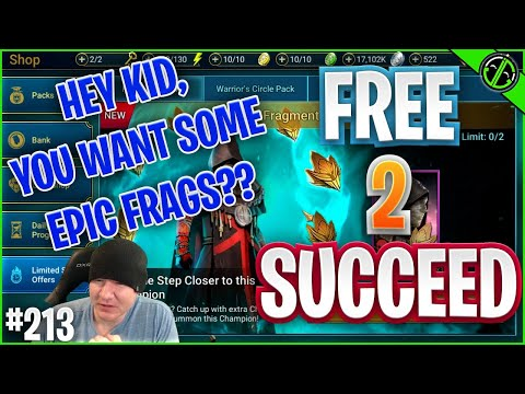 Hey Plarium THIS IS DUMB. Also, Checking Out The New Champs | Free 2 Succeed - EPISODE 213
