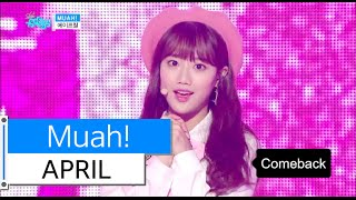 [HOT] APRIL - Muah!, 에이프릴 - 무아!, Show Music core 20151128