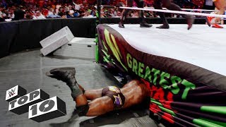Epic Superstar fails: WWE Top 10, May 7, 2018