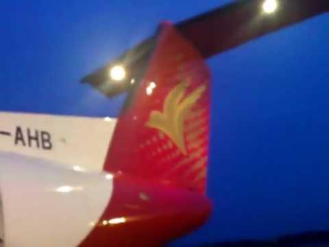 Close-up view of Regent Airways Dash 8-Q314