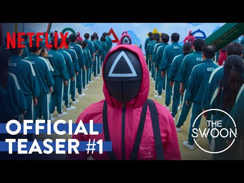 Squid Game   Official Teaser #1   Netflix [ENG SUB]