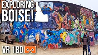 WE LOVE Our City | Exploring Boise, Idaho [Virtual Reality 180]