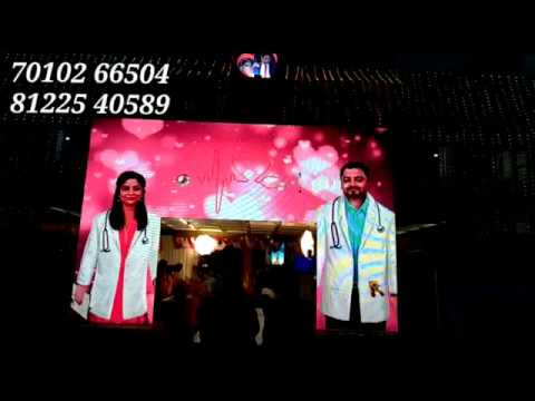 LED Digital Doctor Wedding Marriage Reception Event Decoration Chennai, Neyveli +91 81225 40589