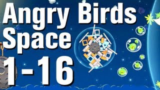 Angry Birds: Space Walkthrough Level 1-16