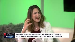 Samara en D'Latinos para hablarnos de su nuevo libro