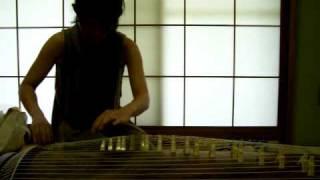 """Miwa Inaba Japanese Koto """"beyond the blue"""""""