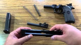 Beretta M9 Field Strip