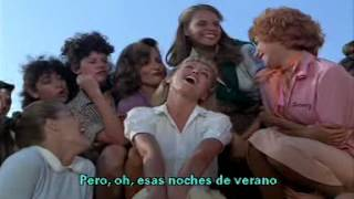 💖 💘 John Travolta y Olivia Newton 😍 Summer Nights 🎬 Subtitulada En Español 💕  💗