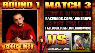 "Eddie Lingo - ""Who?!"" (Jay E-Z Diss) The Jokerr's IDYTDM Battle Royale 2012"