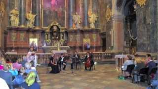 Ludwig van Beethoven - Adagio Cantabile - Viva String Quartet in Lviv's Jesuit Church 12.08.2012.